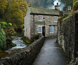 cottage, house, and castleton image