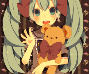 baby, chibi, and bear image