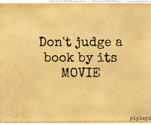 book, judge, and movie image