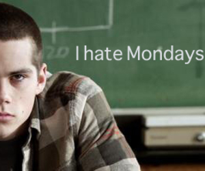 monday, teen wolf, and dylan o'brien image