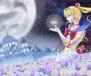 sailor moon, senshi, and usagi tsukino image