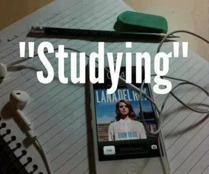 studying, music, and lana del rey image