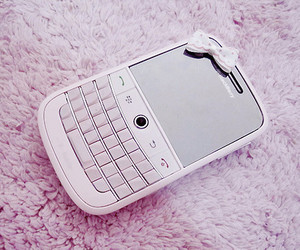 blackberry, pink, and phone image