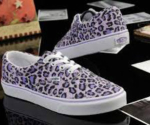 cool, purple, and leopard image