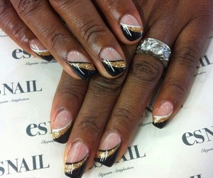 nail addict, manicure, and nails image