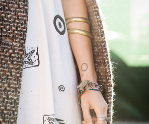 bangles, refinery29, and tattoo image