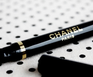 chanel, paris, and eyeliner image