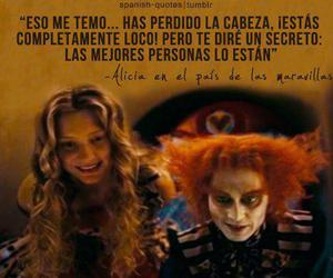 alicia, crazy, and frases image