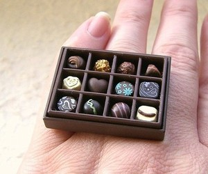 ring, cute, and food image