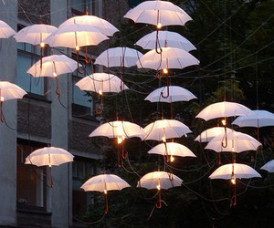 umbrella and light image