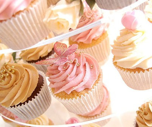 cup cake, eat, and love image