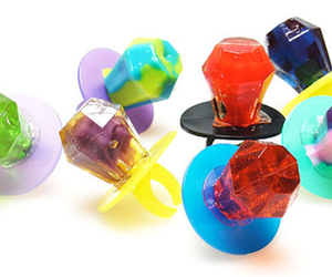 candy, colors, and ring pops image