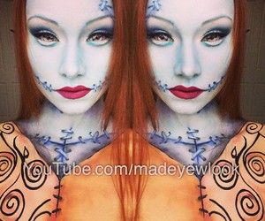 art, makeup, and costume image