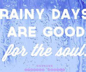 rain and words image