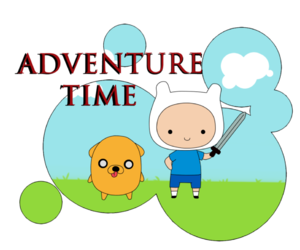 cartoon, adventure time, and finn the human image