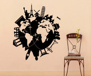 decal, map, and sticker image