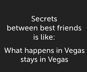 best friends, secret, and vegas image
