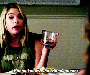 hanna and pretty little liars image