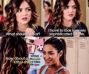 emily, aria, and pll image