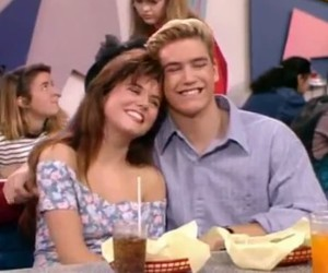 Kelly, saved by the bell, and zack moris image