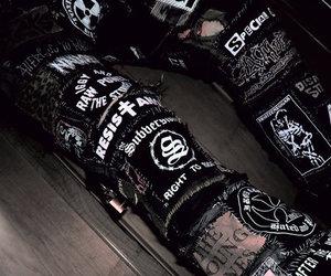 black and punk image