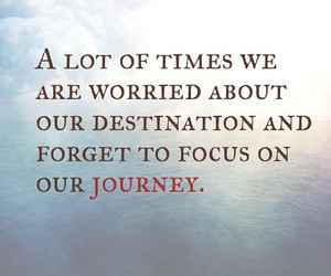 journey, life, and words image
