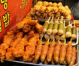 delicious, meat, and street food image