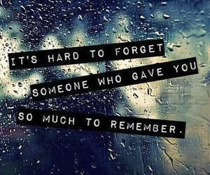 love, forget, and remember image
