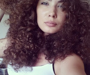 Chick, dope, and curls image