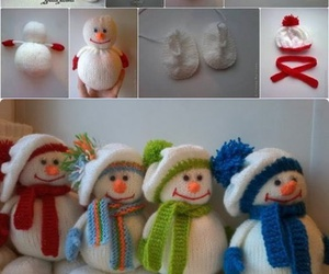 diy, snowman, and cute image