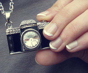camera and necklace image