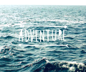 adventure, sea, and wallpaper image