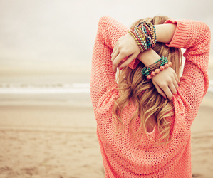 beach and bracelet image