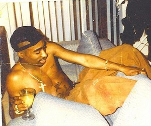 2pac, old school, and tupac image