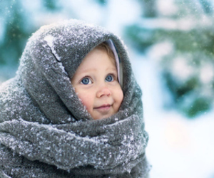 baby, winter, and child image