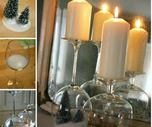 diy, christmas, and candle image