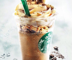 caramel, chocolate, and drink image