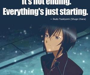 shugo chara, anime, and quote image
