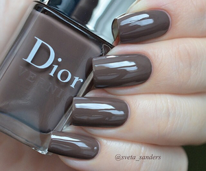 nails, dior, and style image
