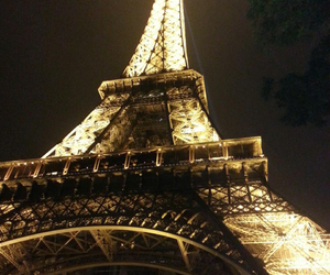 beautiful, dark, and eiffeltower image