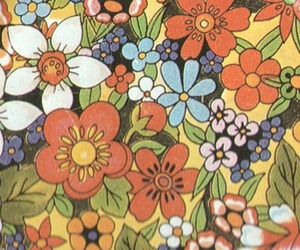 60's, background, and flower image