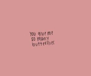 love, quotes, and butterflies image