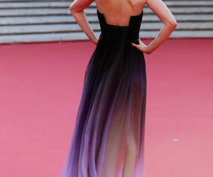 dress, beautiful, and lily collins image