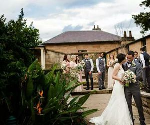 bride, wedding, and groom image