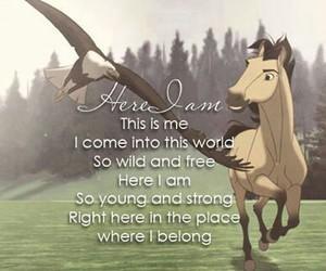 spirit, eagle, and horse image