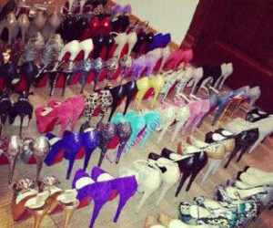highheels, shoes, and iloveshoes image