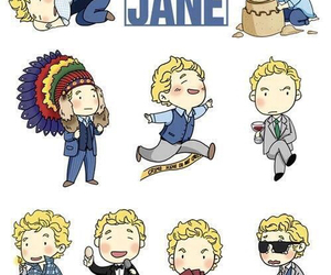 the mentalist and patrick jane image