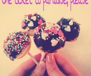 choclate, food, and cakepops image