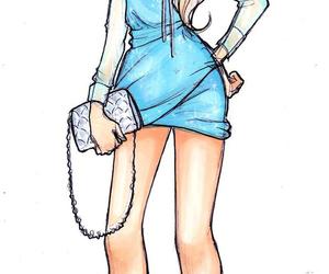 elsa, disney, and dress image