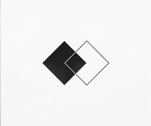 black, minimal, and just it image